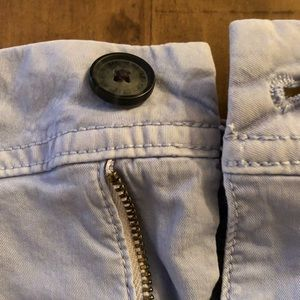 American Eagle Outfitters Shorts - AE Super Stretch Shorts - Light Blue